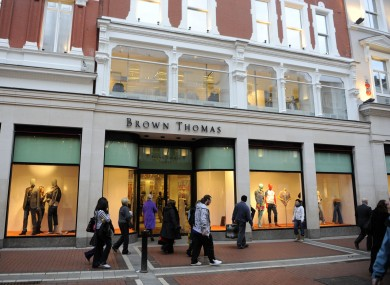 Brown Thomas, Grafton Street, Dublin