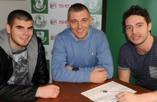 Murphy and Ledwith join Shamrock Rovers