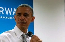 VIDEO: President Obama cries during address to staff