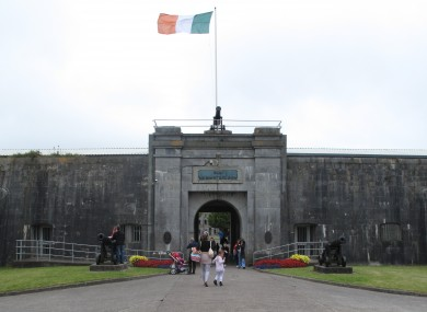 The gates to Fort Mitchel on Spike Island: City County Council has finalised a €40m plan to turn the island into a tourist hotspot.