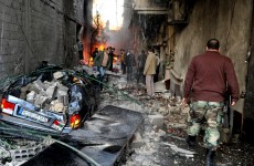 Car bombs rip through Damascus killing 34