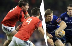 Christmas crackers: Munster v Leinster