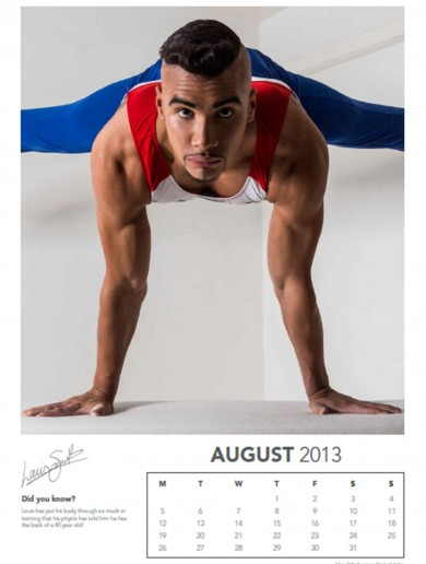 The Score.ie Christmas gift idea No 4: The Louis Smith calendar