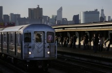 Woman charged with hate crime after man pushed in front of NY subway train