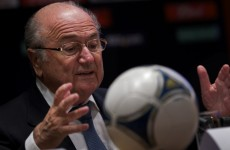 Blatter: 'Goal-line technology works'