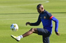 Abidal cleared for Barca comeback