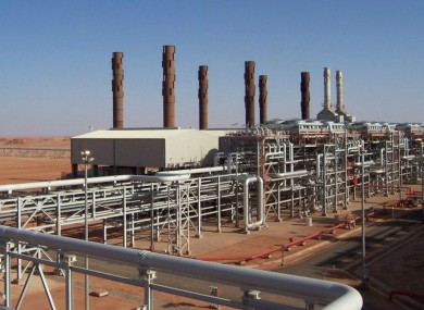 The Amenas natural gas field in Algeria where the hostages are being held
