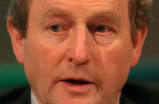 "Kenny: Irish have borne weight of bank debt with ""courage, patience and dignity"""