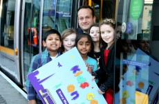 Kids travel free on the Luas for next three months