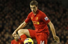 VIDEO: Jordan Henderson puts Liverpool ahead with volley against Norwich