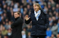 Bullish Roberto Mancini not giving up on title battle