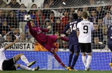Champions League: Zlatan sent off, Valencia maintain hope against clinical PSG