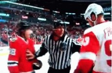 NHL ref appears out of nowhere in mind-blowing GIF