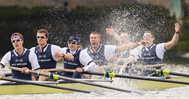 Oxford win controversy-free Boat Race