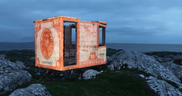 VIDEO: Austrian artist shines new light on forgotten Irish lookout posts