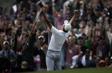The clutch play-off putt that won the Masters for Adam Scott