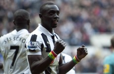 Papiss Cisse had a job when he was 15… as an ambulance driver