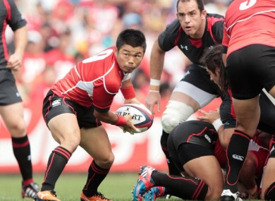 Japan defeated an understrength Wales team on Saturday morning.