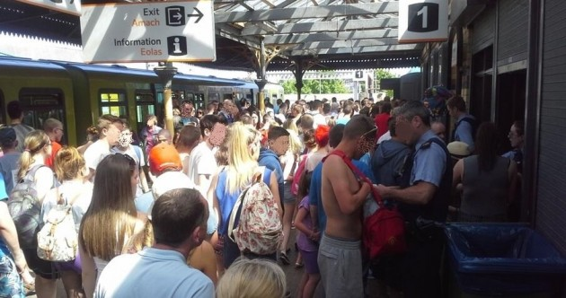 Strong garda presence in Dublin after sun brings hundreds out for beach rave