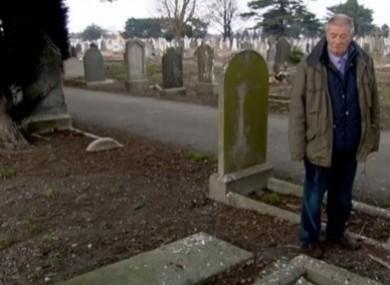 Derek Leinster at Mount Jerome Cemetery