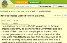 'Intern bank execs and politicians' – revolution in the small ads?