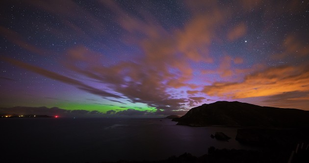 Pic: The Northern Lights captured in Donegal