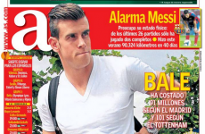 Spanish newspaper ploughs ahead and announces Gareth Bale transfer