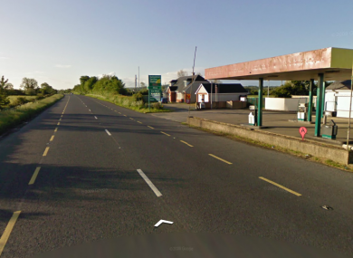 File image of the Ballysimon road near to where the man crashed overnight.