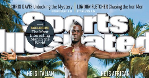 Mario Balotelli makes the cover of Sports Illustrated, gives away his $250,000 Camouflage Bentley