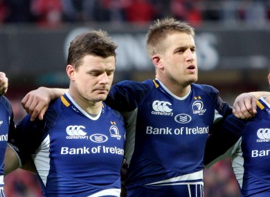 Brian O'Driscoll's 13 jersey at Leinster may be filled by Luke Fitzgerald.