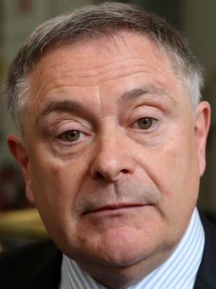 Brendan Howlin with the dead serious face on him. Seriously, like.