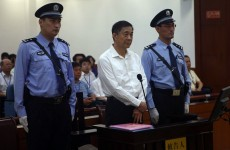 Disgraced Chinese politician denies bribery and murder cover-up