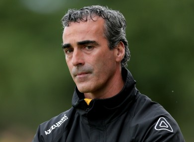 Jim McGuinness met with the team and the Executive Committee today.