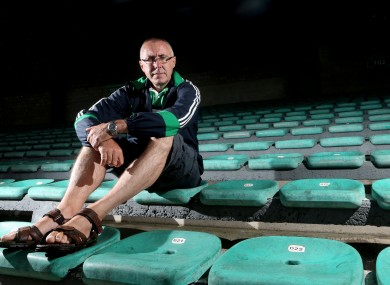 Limerick boss John Allen at the Gaelic Grounds last week.