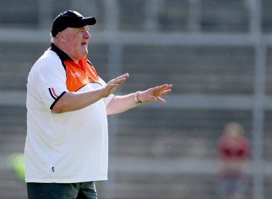 Armagh manager Paul Grimley has been confirmed as manager for another season.