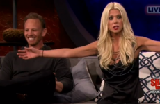 Tara Reid makes a fool of herself on American television…