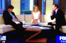 Fox News presenter falls asleep on air