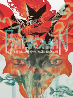 Batwoman promo art by JH Williams III and WH Blackman