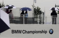 Rained off: BMW Championship to finish today after storms stop play
