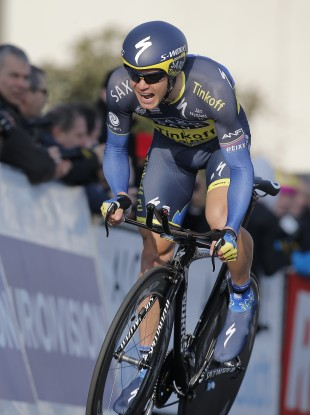 Nicolas Roche could not stick with the leading riders as the penultimate stage wore on.