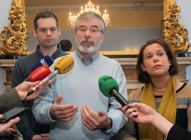 Ring of fire: Even the opposition were burning up at the return of the Dáil this week.