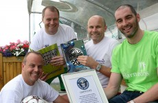 Irish 5-a-side football match sets new Guinness World Record