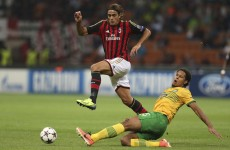 Two late goals break Celtic hearts in Milan