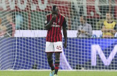 Mario Balotelli's penalty streak ends at 21