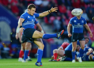 Ex-Newcastle Falcon's fly half Jimmy Gopperth scored 22 of Leinster's 42 points.