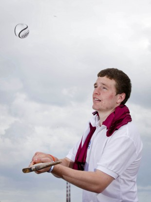 Galway minor hurler Paul Killeen.