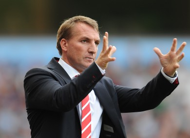Case for defence: Rodgers returns to the Liberty Stadium with his Liverpool side on MNF.