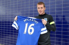 James McCarthy: I'm not fazed by £14million price tag