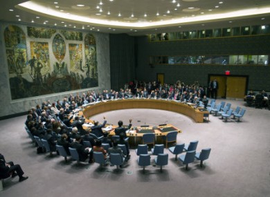 The UN Security Council votes on a resolution that will require Syria to give up its chemical weapons.