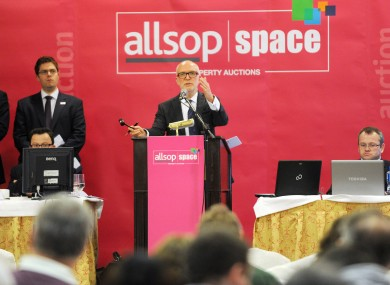 Allsop property auction earlier this year.